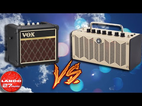 Vox Mini3 G2 vs Yamaha THR5 - Mini Amp Comparison