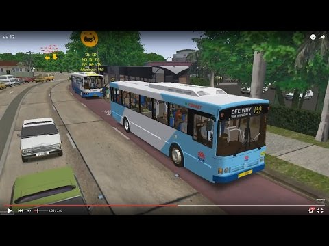 Omsi 2 tour (641) Sydney bus 159 Manly Wharf - Wingala - Dee Why Grand @ MB O405 澳洲 悉尼