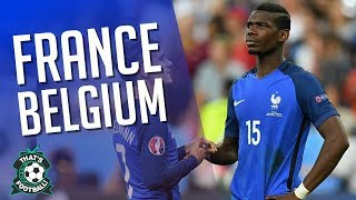 FRANCE vs BELGIUM LIVE Stream Watchalong