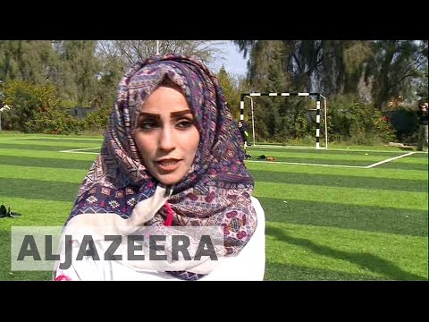 Palestinian women bring baseball to Gaza