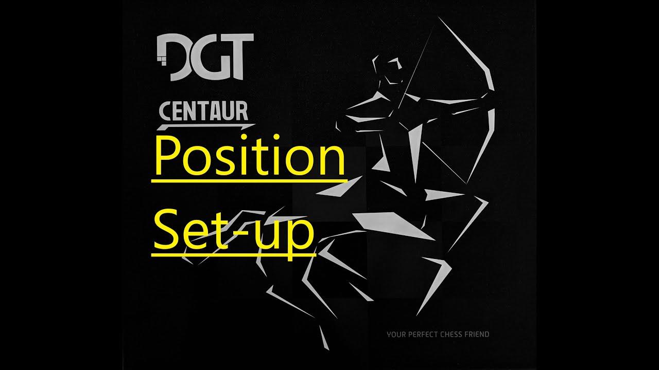 DGT Centaur - How to use Position Set-up - Самые лучшие видео