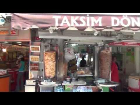 СТАМБУЛ ТУР пешком из Sisli ШИШЛИ до Taksim Square 29 апреля 2013