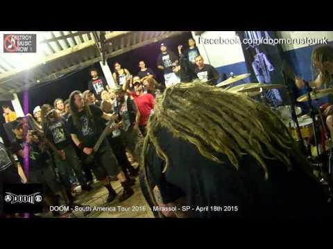 DOOM -  South america tour 2015 - Mirassol - SP ( full gig )