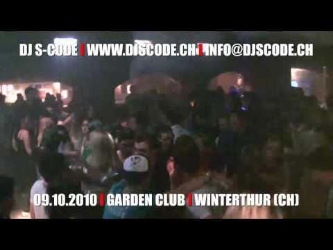 DJ S-CODE live @ Garden Club, Winterthur (CH)