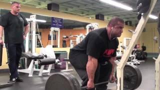 Back Training w/ Fouad Abiad