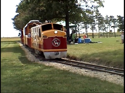 Attirant Model Train You Can Ride ON! Waterman U0026 Western Part II