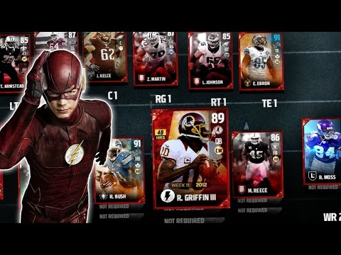 THE FASTEST PLAYER AT EVERY POSITION!! MADDEN 17 SQUAD BUILDER