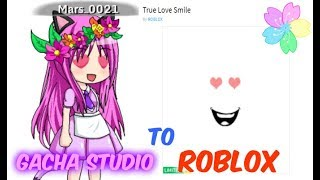 Doing Roblox Faces On Gacha Studio! (Take 2...)