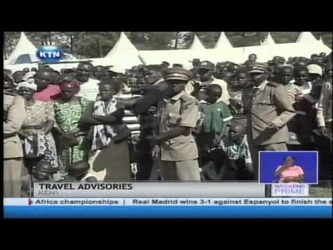 US government defends the travel advisory against touring Kenya.