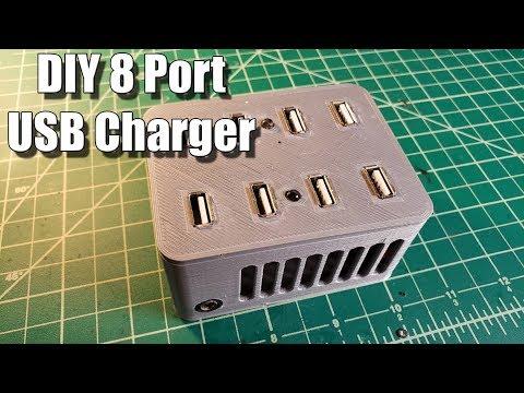 DIY 8 Port USB Charger