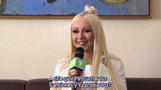 Christina Aguilera - Entrevista Melty Festival Mawazine 2016 (Subtítulos español)