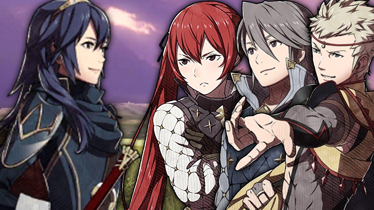 Fire Emblem Fates - Lucina meets Odin,Laslow & Selena (Amiibo Conversation)