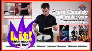 Learn Pipe Band Snare Drumming with Grant Cassidy of the Red Hot Chilli Pipers!