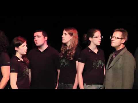 Ich laufe von Tim Bendzko, gesungen vom Junger Chor Oeventrop JCO