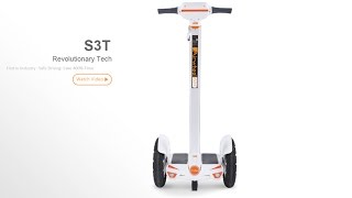 dual wheel electric scooter airwheel s3t