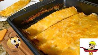 Chicken Enchiladas - International Dish