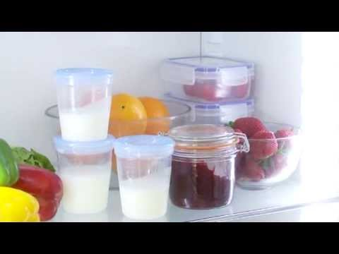 How To Store And Warm Breast Milk Demonstration Video | BabySecurity