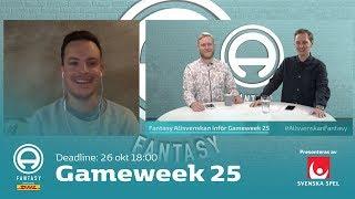FanTV Allsvenskan Fantasy: Gameweek 25