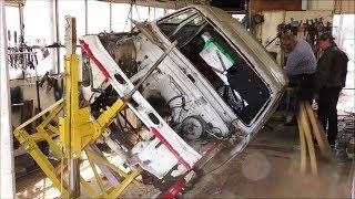 Волга ГАЗ 24 10 ремонт ржавого кузова. Сборный ролик из плейлиста ГАЗ 24-10.