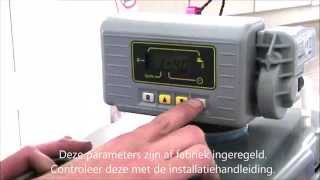 In bedrijf stellen video Plus waterontharder