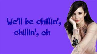 Chillin' like a snowman lyrics ~ Sofia Carson