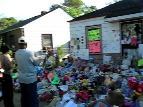 Michael Jackson home, 2300 Jackson Street, Gary, Indiana