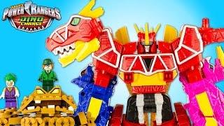 Power Rangers Megazord Dino Charge Contre Gueule DArgile Joker Homme Mystère Jouet Toy Epic Battle