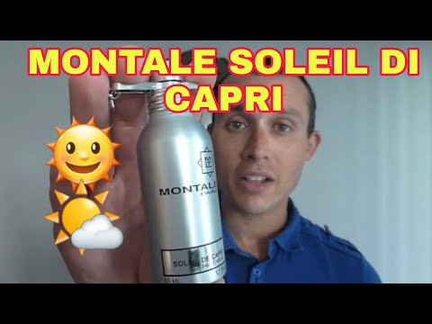 Montale Soleil de Capri fragrance/cologne review