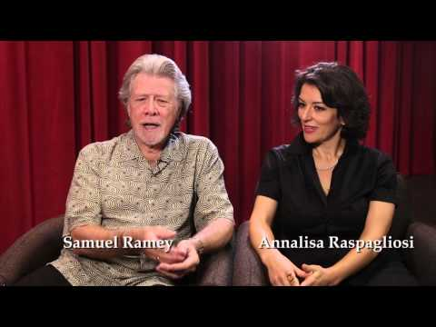Don Carlo Interview with Samuel Ramey and Annalisa Raspagliosi