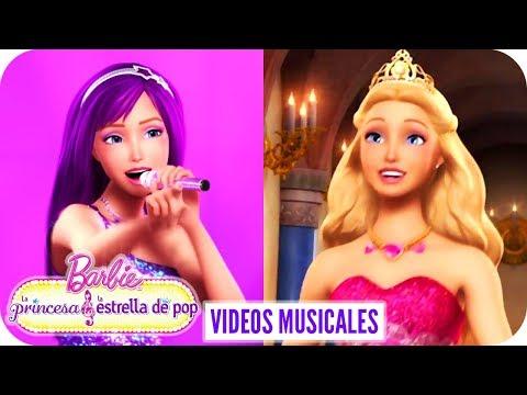 Ahora Soy/Las Princesas Desean Diversión | Video Musical | Barbie™ La princesa y la estrella de pop