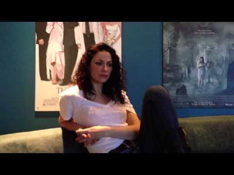 scifivision.com Exclusive  with Joanne Kelly on the Set of Warehouse 13
