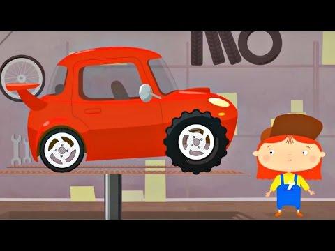 Çizgi film - Doktor Mac Wheelie - Kırmızı araba - Türkçe dublaj