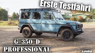 G 350 d Professional I Erste Testfahrt I Modell 2016 I Paul Lüske GmbH