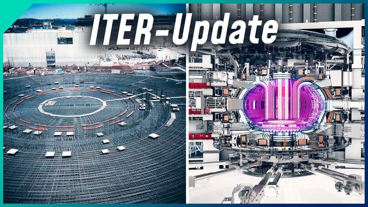 Neues vom Kernfusionsreaktor ITER