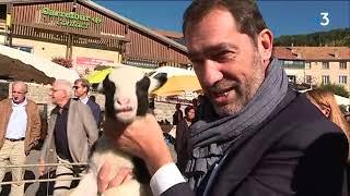 Christophe Castaner en visite à la foire de Seyne-les-Alpes