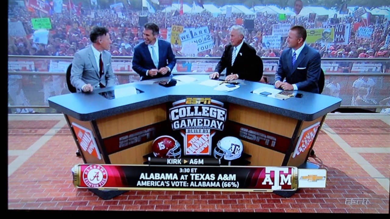 Lee corso pick texas a&m alabama betting stuff to buy with bitcoins free