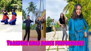 New trending instragram reels videos | expression queens | Tamil Dancing Queens