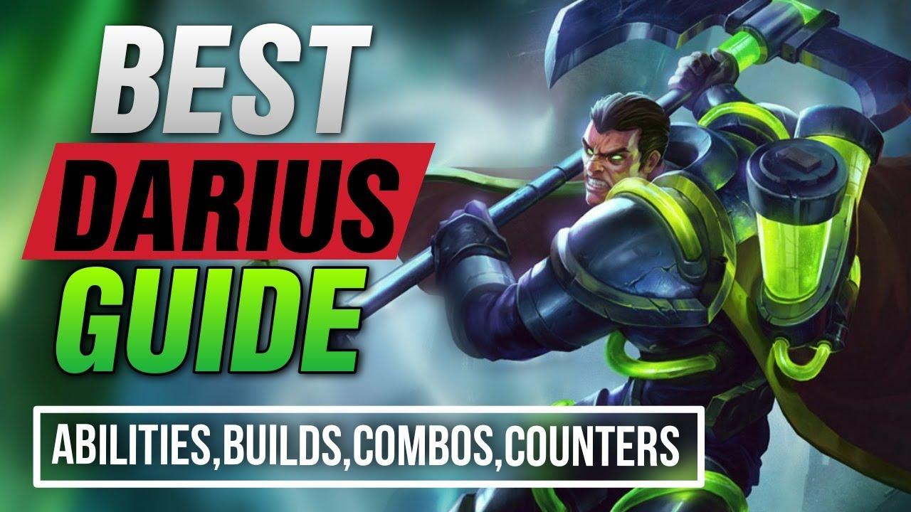 Wild Rift Darius Guide Tutorial Darius Full Guide Builds Combos Runes Spells Darius Wild Rift Youtube