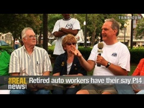 Retired auto workers have their say Pt.4