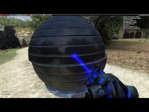 Garry's mod   How to make a ball that you can roll inside
