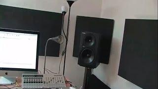 Акустическая отделка помещения под студию звукозаписи