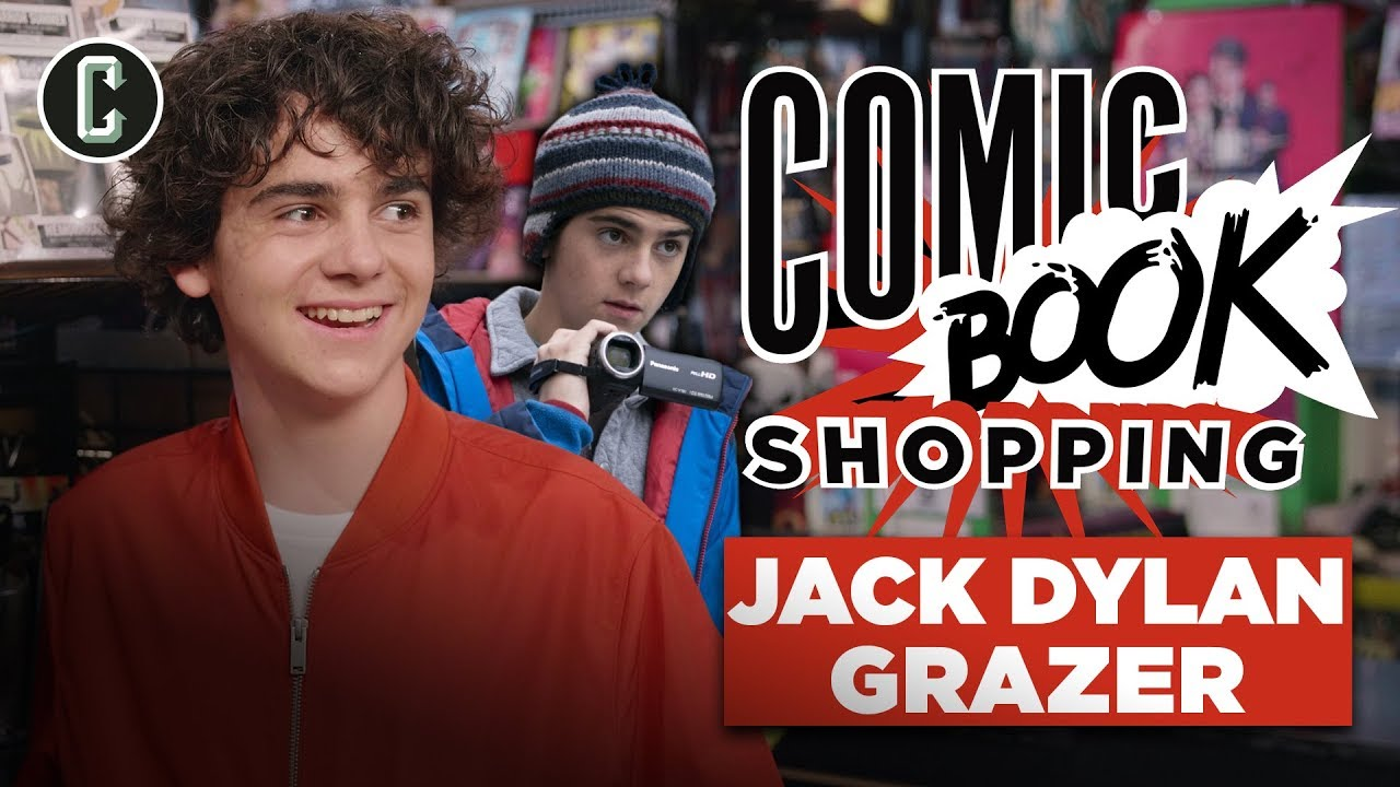 Shazam's Jack Dylan Grazer Goes Comic Book Shopping and Talks Batman, Joker & Umbrella Acad