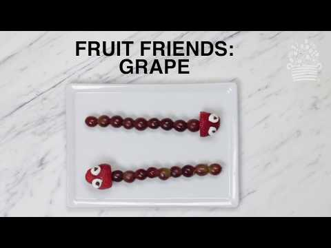 Kids Fruit Friends: How to Make Snake Fruit Art