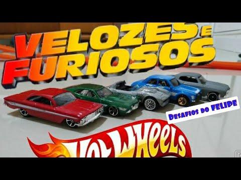 Hot Wheels Velozes e Furiosos! 5 Miniaturas da saga