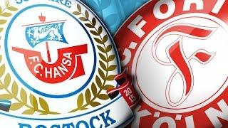 F.C. Hansa Rostock empfängt Fortuna Köln