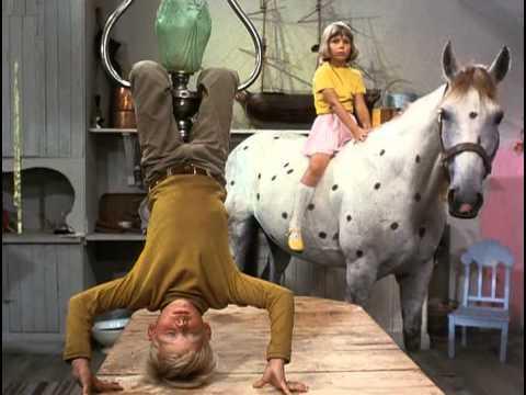 Pippi zieht in die Villa Kunterbunt 1