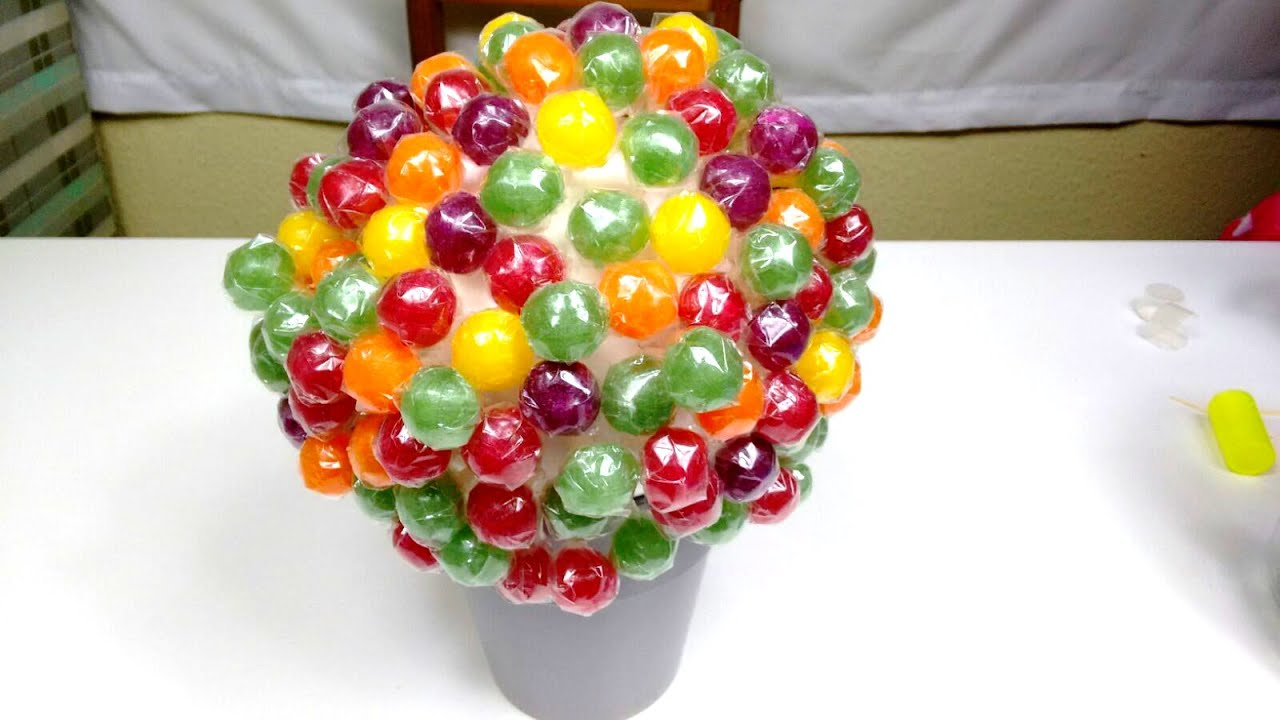 How To Make A Lollipop Tree Amazing Fun Party Ideas