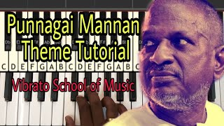 Punnagai Mannan Theme | Tutorial | Vibrato School of Music | Ilayaraja