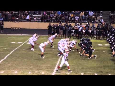 Marcus Johnston #14 Football Senior 2013 Pulaski County High School Highlights
