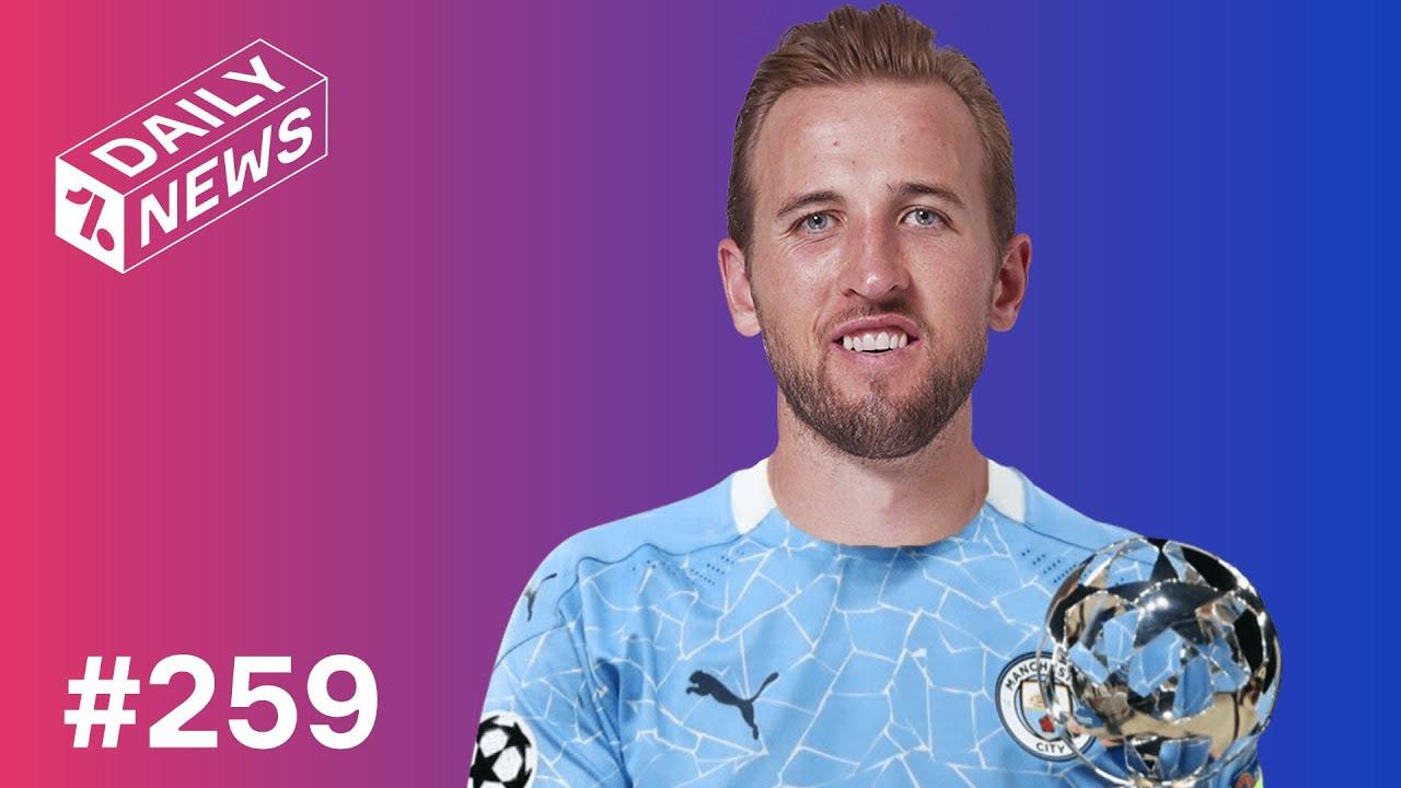 Man City's HUGE Harry Kane bid + Denmark make HISTORY at Euro 2020!